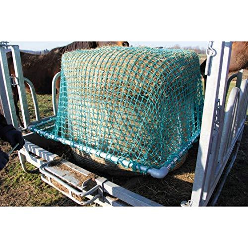 Rahmenhalterung 1,80 x 1,80 m für Futtersparnetz für Viereckraufen 2 x 2 m ohne Netz