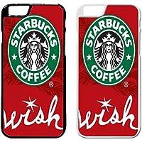 Starbucks Holiday Funda iPhone Case Funda iPhone 6 Plus Case or Funda iPhone 6S Plus Black Rubber C1Z4LYN
