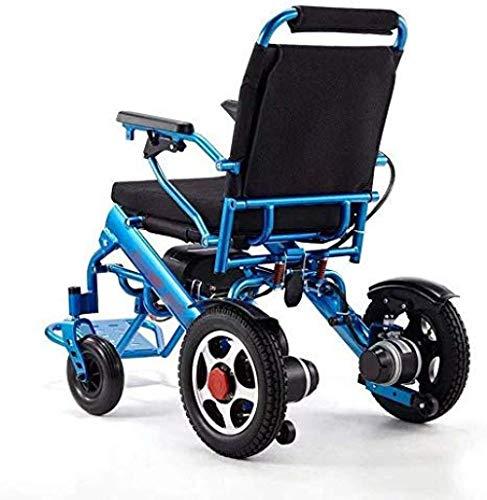 Cynyy Leichtgewichtige Dual Function Fetable Power Wheelchair Für Ältere Elektrische Rollstühle Faltbar Intelligent Und Leicht Aluminiumlegierung 360 ° Intelligenter Betrieb