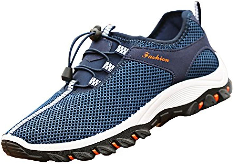 Zapatillas De Gimnasio Ligero Malla Transpirable Running Deportes Para Hombre Al Aire Libre
