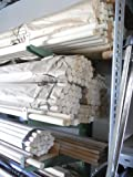 10 Stangen Weichholz Rundstab Holzstab Durchmesser 15 mm Länge 1000 mm natur ohne Lackierung