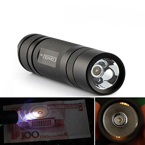 Bazaar Convoy S2 + Nichia 365nm UV LED 1Mode OP Reflektor Taschenlampe
