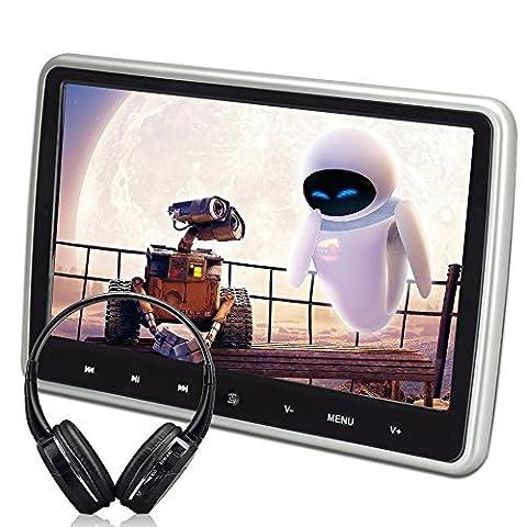 wzmirai 25,7cm tablet-style superdünn Auto Kopfstütze DVD Player breit Display