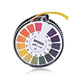 Gearmax Tornasole di pH indicatore di Carta Striscia Roll, intervallo pH 1-14
