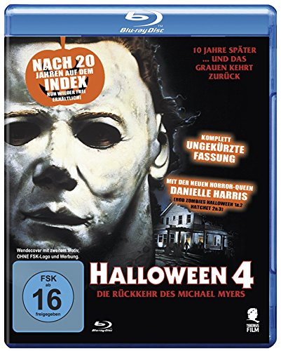 Halloween 4 - Die Rückkehr des Michael Myers (Uncut) [Blu-ray] (Of Witch Halloween-season The Film)