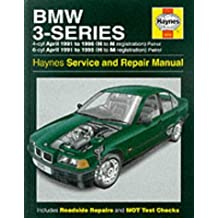 BMW 3-Series (91-96) Service and Repair Manual (Haynes Service and Repair Manuals) by Steve Rendle (29-May-1996) Hardcover