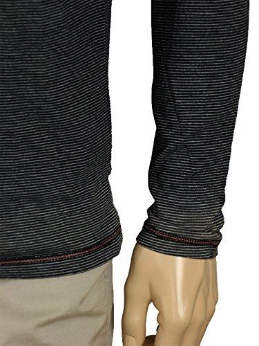 Langarm-Shirt von M.O.D in Grau Grau