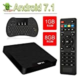 Smart TV Box Android 7.1- VGROUND W95 Android TV Box with Amlogic S905W