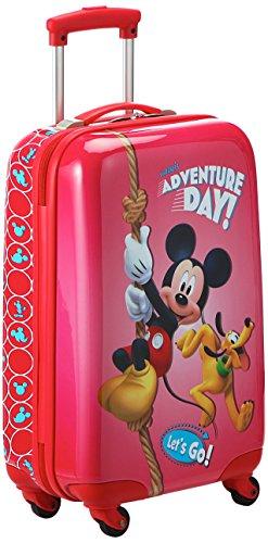 Disney Adventure Day Valigia per Bambini, 55 cm, 33 Litri, Rosso