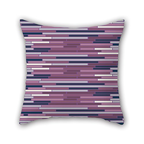 niceplw rayas manta funda de almohada 20x 20pulgadas/50por 50cm regalo o decoración...