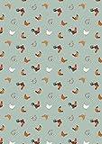 Huhn & Kuh Stoffe–Kleine Dinge auf dem