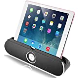 Bluetooth Speaker, Archeer 10W Portable Wireless Speaker With iPad/ iPhone Stand Foldable Kickstand, 20 Hours Long Playtime for iPhone Samsung, Other Smartphone and Tablet/Laptops