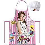 Soy Luna Pack Cocina Delantal y Gorro de Cocina