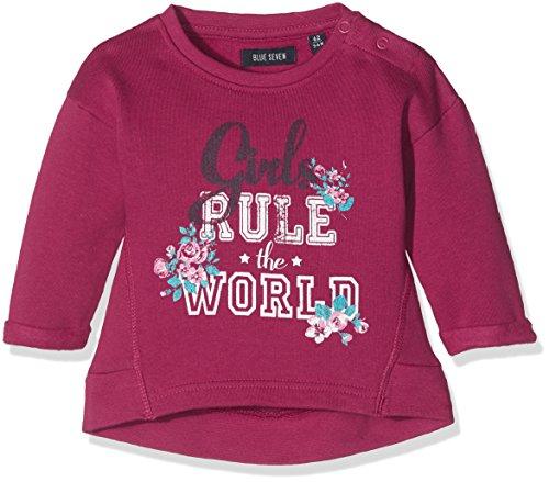 Blue Seven Baby-Mädchen Sweatshirt 957012 X, Rot (Bordeaux Orig 355), 68