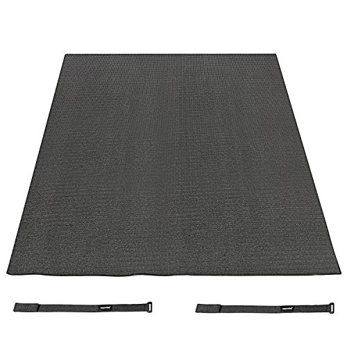 neewerr-black-6-x-4-feet-18-x-12m-non-slip-drum-mat-with-nylon-carrying-bag-for-bass-drum-snare-and-