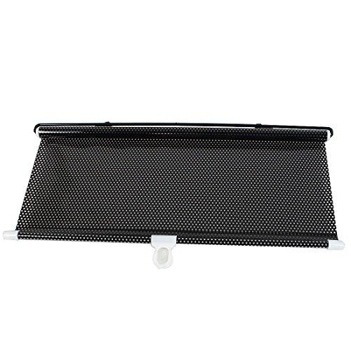 40cmx60cm Schwarz Auto Seitenscheibe Vinyl Sonnenschutzrollos Sonnenschutz