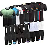 Uglyfrog 2017 Neue Radsport Anzüge Herren Kurze Hülse Trikots + Short Bib Tight Hosen Gel Pad Style Cycling Triathlon Clothes