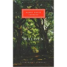 Walden (Everyman's Library) by Henry David Thoreau (1993-01-11)