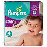 Pampers Active Fit Premium Protection, 168 Pannolini, Taglia 4 (8-16kg)