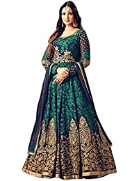 Manish Trading Women's Cotton Full Flare Party Wear And Casual Wear Long Kurti For Women, Kurtis For Women, Jaipuri... - B07J1L4TK7