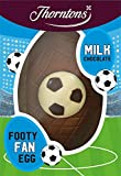 Thorntons Football Fanatic    Easter Egg Milk 150g (62036)        When they eat, sleep and dream of football, thereand#39;s only one egg thatand#39;ll do this Easter: our deliciously creamy Footy Fanatic Egg! Perfectly and#39;pitchedand#39; ...