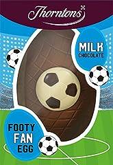 Idea Regalo - Thorntons Calcio Fanatic Easter Egg Milk 150g (62036) by Thorntons