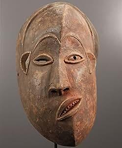 Ancien Masque Africain Tribal Pende Malade - Art Africain - Congo