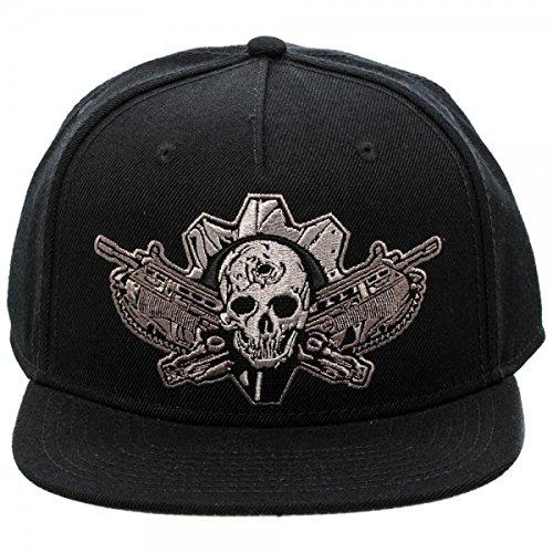 Baseball Cap - Gears of War - Black on Black Snapback New Toys Licensed sb3azigow