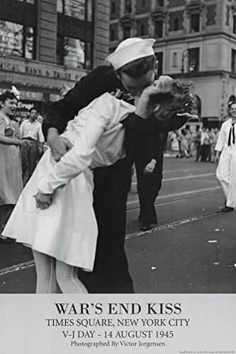 Wars End Kiss (War's End Kiss - Times Square, New York von Lt. Victor Jorgensen Kunstdruck)