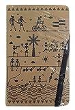#6: Matrikas Warli Invictus_EAN_IJAGAEJGDDAHF Journal Ruled Notebook, 224 Pages