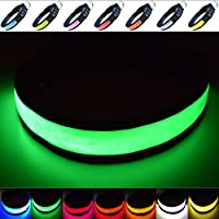 "Fun Pets Super Bright LED Collar (Mittel (40cm - 50cm / 15.7"" - 19.7""), Grün)"