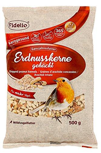 Fidelio – Noccioli di Arachidi, Confezione da 4 (4 x 500 g)