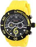 Nautec No Limit Herren-Armbanduhr XL Zero-Yon 2 Chronograph Quarz Plastik ZY2-6 QZ/PCPCBKBK-YL