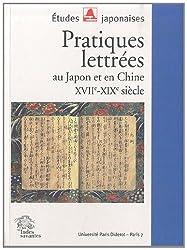 Pratiques lettrées au Japon et en Chine : XVIIe-XIXe siècle