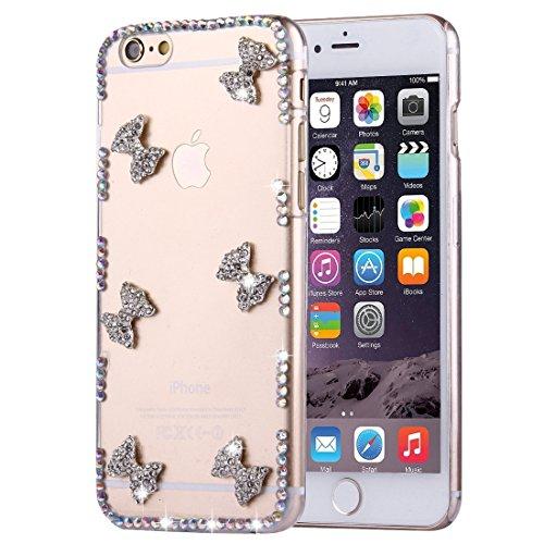 Phone case & Hülle Für IPhone 6 / 6s, Diamant verkrustete Sonnenblumen-Perlen-Bell-Muster-PC schützende Fall-rückseitige Abdeckung ( SKU : IP6G2010A ) IP6G2010F