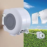 Taylor & Brown® Double Line 26m Indoor Outdoor Retractable Reel Clothes Washing Line
