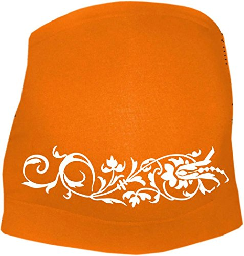 KLEINER FRATZ - Ceinture de grossesse spécial grossesse - Slogan - Femme - orange - 44
