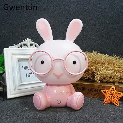 Led Nachtlicht Usb Led Kinder Brille Hase Licht Cartoon Kinder Tier Nachtlicht Kinderzimmer Geburtstag Weihnachtsgeschenk