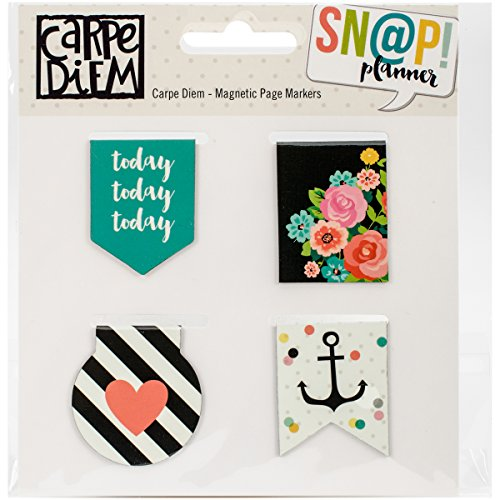 Simple Stories Carpe Diem Magnetic Page Markers Special