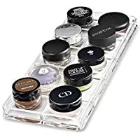 byAlegory Acrylic Paint Pot/Cream Shadow Makeup Organiser | 10 Space Tray Cosmetic Beauty Care Storage