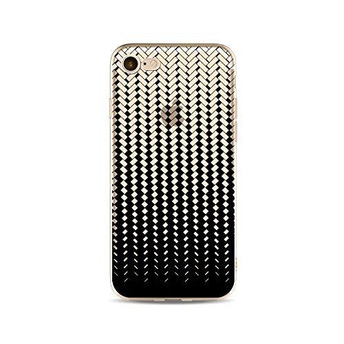 Coque iPhone 5 5s SE Housse étui-Case Transparent Liquid Crystal en TPU Silicone Clair,Protection Ultra Mince Premium,Coque Prime pour iPhone 5 5s SE-ligne-style 11 10