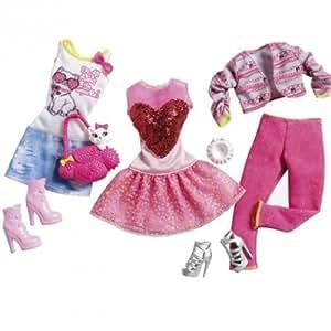 Barbie Mattel - Y7093 - Accessoire Poupée - Fashionistas - Mode - Printemps
