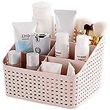 #7: TQWMU Plastic storage Basket, Office Organizer, Kitchen storage Box