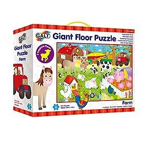 Galt Toys Puzle De Suelo Gigante-Granja, Multicolor (A0857D)