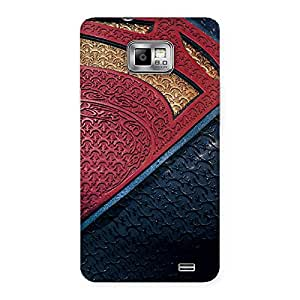 Impressive Day suit Multicolor Print Back Case Cover for Galaxy S2