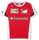 Puma Ferrari Sponsoren T-Shirt, rot
