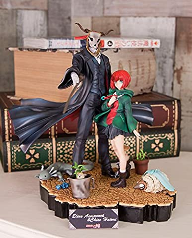 The Ancient Magus Bride Elias Ainsworth & Chise Hatori 2 body set set version special accessories Man Drake & Aetoniki & Watamushi & with potted set Non Scale PVC Painted FigureGenei