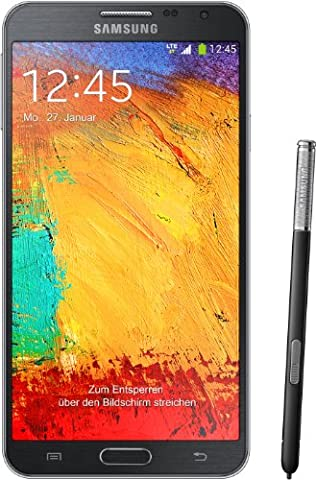 Samsung Galaxy Note 3 Neo Smartphone (13,94 cm (5,49 Zoll) Super AMOLED-Touchscreen, 1,3 GHz Quad-Core-Prozessor, 8 Megapixel Kamera, Android 4.3) schwarz