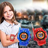 Studyset 1 Pairs Children Toy Walkie Talkie Child Wrist Watches Real Time Display