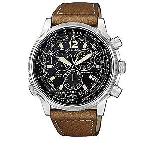 Reloj de Cuarzo Citizen Radio Controlled, Eco Drive, 43,8mm, Negro, CB5860-27E